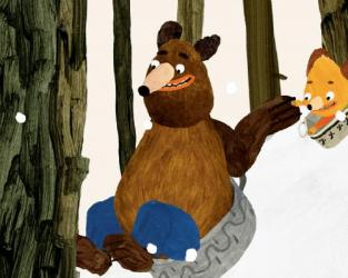 Hungry Bear Tales - Winter Sleep