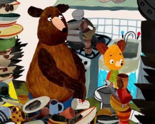 Hungry Bear Tales – Dishwashing Service