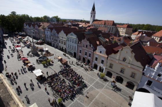 Malebné Masarykovo náměstí