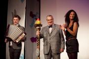 Karel Schwarzenberg hrou na vozembouch zahájil Anifilm 2012