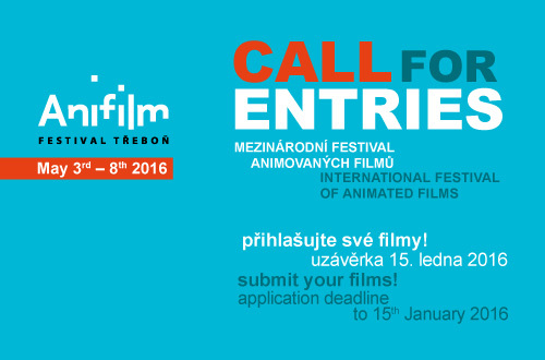 Svá díla přihlašujte do soutěže třeboňského Anifilmu!