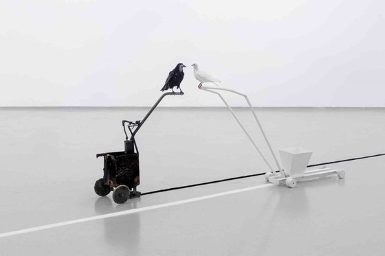 Hudebník a vizuální umělec Milan Cais vystavuje v Zámecké galerii v Třeboni