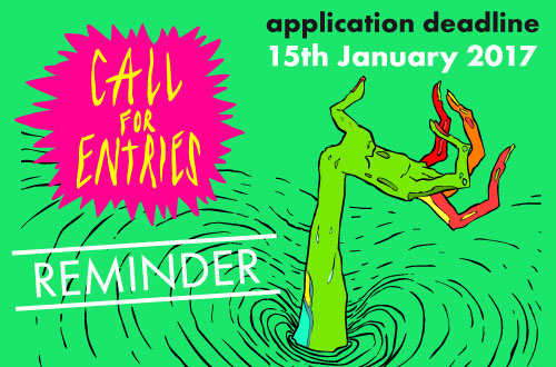Time is running out: Submit your Animation!