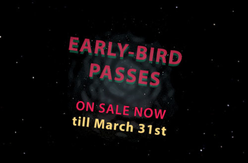 Discounted Festival Passes Available Only Until the End of March