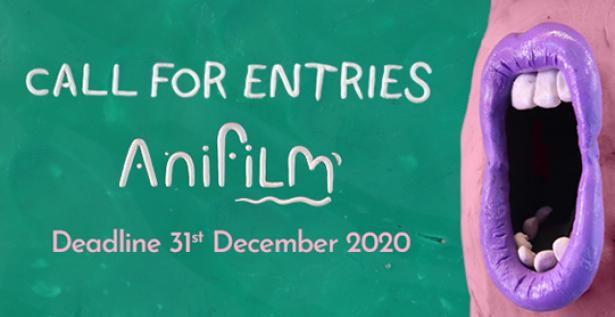 Call for entries to Anifilm 2021