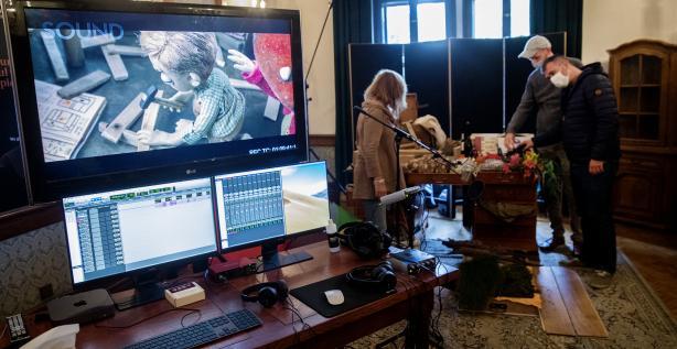 Hear animation in the Foley Studio BEEP