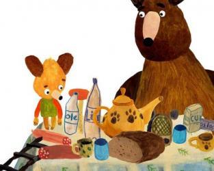Mlsné medvědí příběhy: Hurá na borůvky!