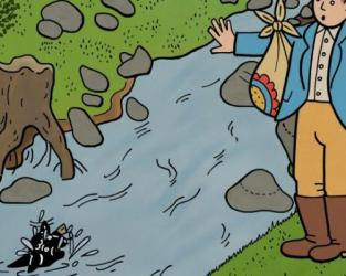 Honza and the Lamb – How they Helped the Water Goblin