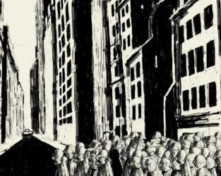 François Poitou: Le Silence de la rue
